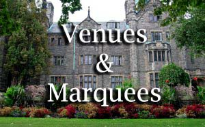 Wedding Venues and Marquees
